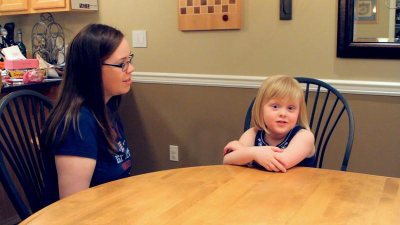 Interview - Katie's Last Day of Preschool