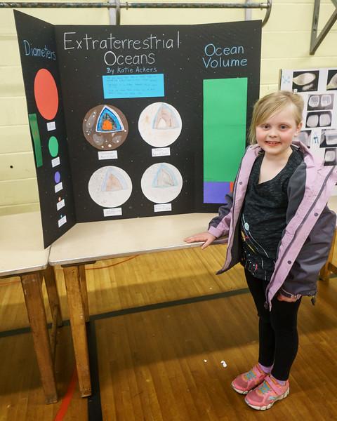 Katie's Second Grade Science Fair Project - Extraterrestrial Oceans