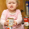 Katie found it a bit frustrating when the cans would not stack easily.