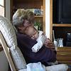 Katie and Grandma Donath