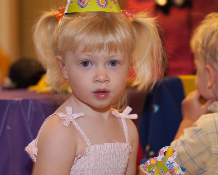 Katie's 2nd birthday, January 2006
