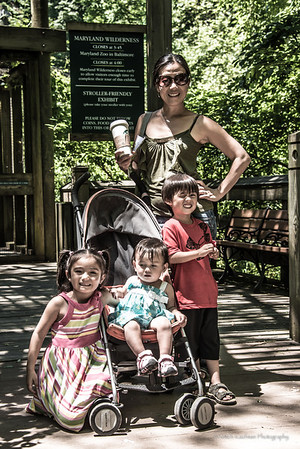 Family at Zoo-022
