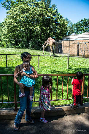 Family at Zoo-156