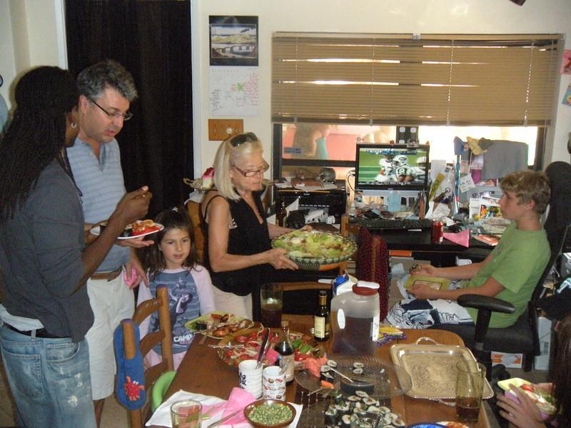 2009 09 20--Kylie's 2nd Birthday Party--Mario Michael Sophie Vicki Kai