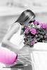 Michaella-B+W+Pink Flowers-8