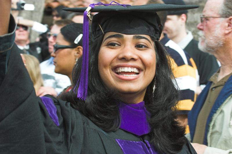 Kavya's Graduation from Law School