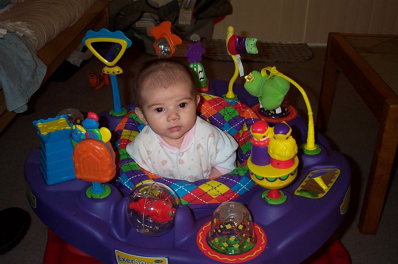 This space-alien saucer creation was a gift from her Aunt, Marcy.
