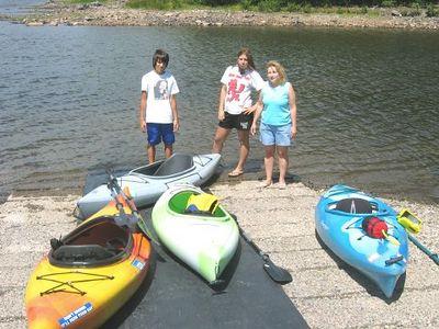 The Levittown Crew Kayaks