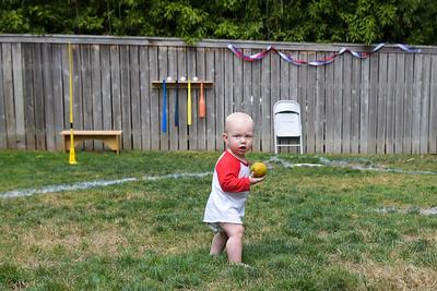 Keegan Dean Baker - 1st Birthday