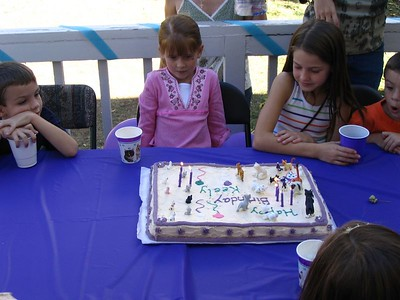 Keely's 7th birthday 2005