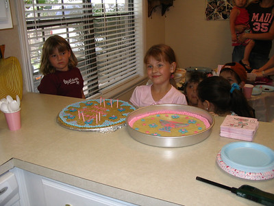 Keely's 8th birthday 2006