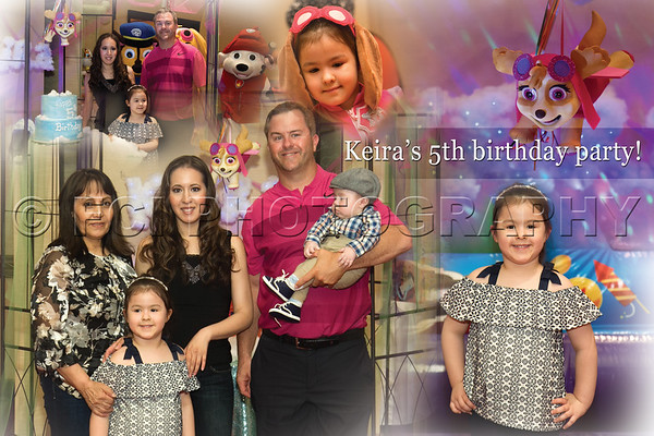 Keira's 5th Birthday Party