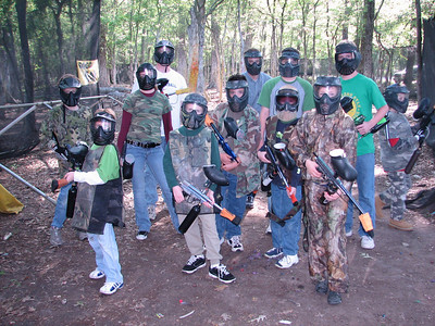 Keith's 11th Birthday Paintball Party