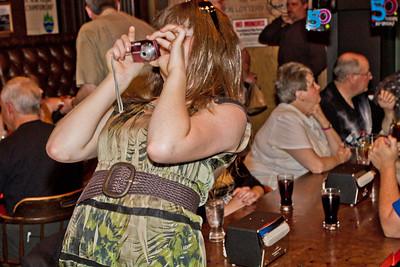 Melissa taking a shot
