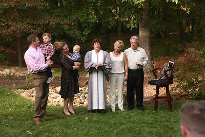 Kellen Rauch Blessing - September 28, 2014