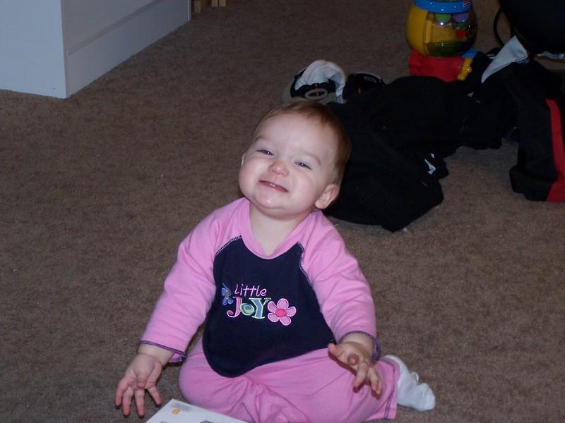 Happy girl!