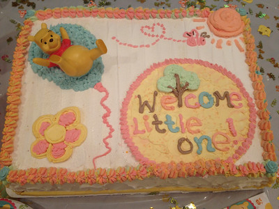 This cake was decorated by Tanya at Wohlner's Grocery in Ak-Sar-Ben Village. She did a great job!