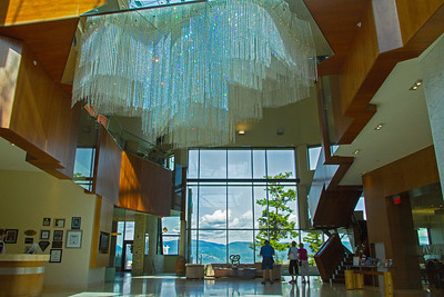 Lobby of Crystal Mountain Resort