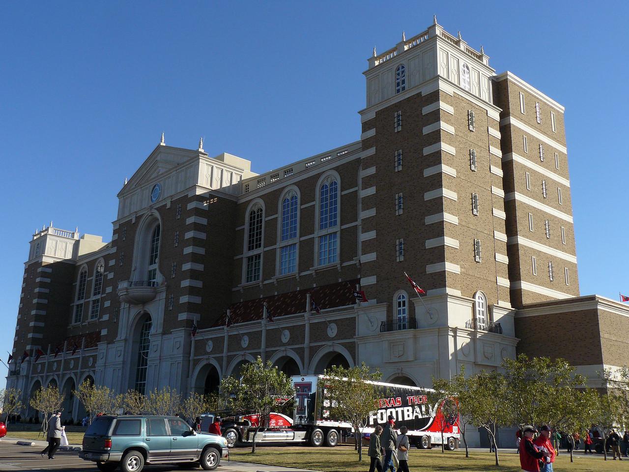 Front of Jones AT&T Stadium