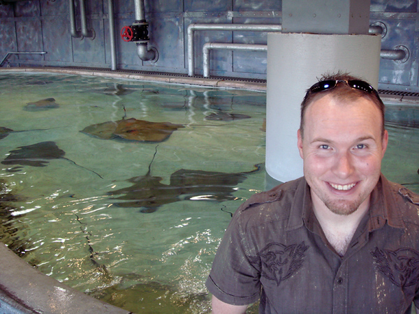 Brian and rays.