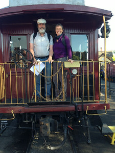June 2014, about to ride the Durango-to-Silverton steam train