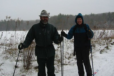 December 2003 'hike' to Fitzgerald Lake, Northampton