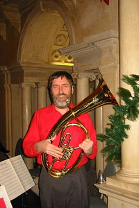 December 2003 Ken  performed with South Hadley Community Band at Wistariahurst, Holyoke.