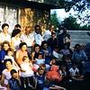 Kennedy's, Melba backyard, 1960