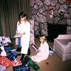 Burton house. Heidi & Jill 1970