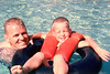 1965 Kent and Chris Swimming
