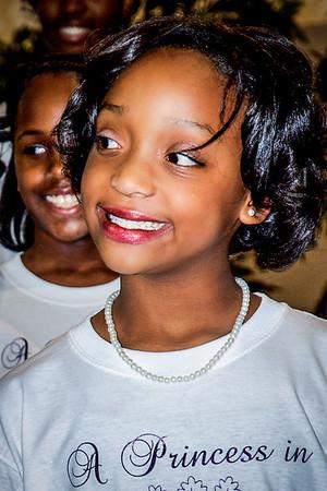 Precious and engaging smile of Kenya Freeman