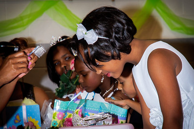 Kenya being crowned a Princess in HIS KIngdom