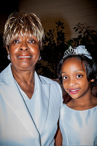 "Great Auntie Lena ""Peanut"" Gleaton looks to the horizons Princess Kenya will soar"