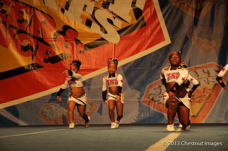 Kenya in action with TNA Magnificent Minis at Myrtle Beach, SC competition