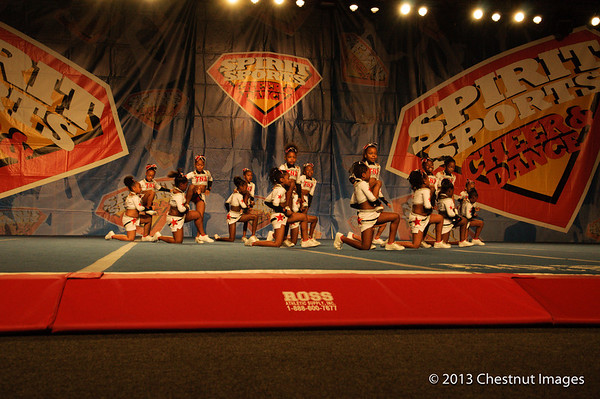 TNA Magnificent Minis performing their National Championship routine in Myrtle Beach, SC competition