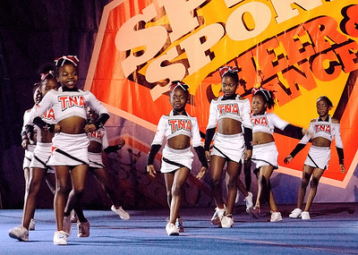 Top Notch All-Star's Magnificent Minis take the stage at Myrtle Beach, SC competition.