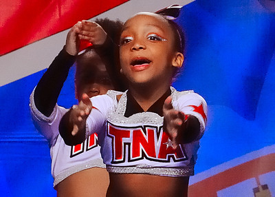 Kenya cheers at Myrtle Beach, SC competition