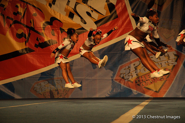 Kenya and fellow TNA Magnificent Mini jump to a National Championship title at Myrtle Beach, SC competition