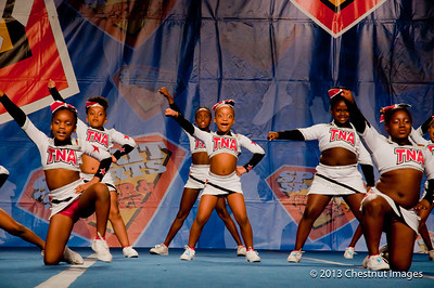 TNA Magnificent Minis perform their National Champonship routine at Myrtle Beach, SC competition