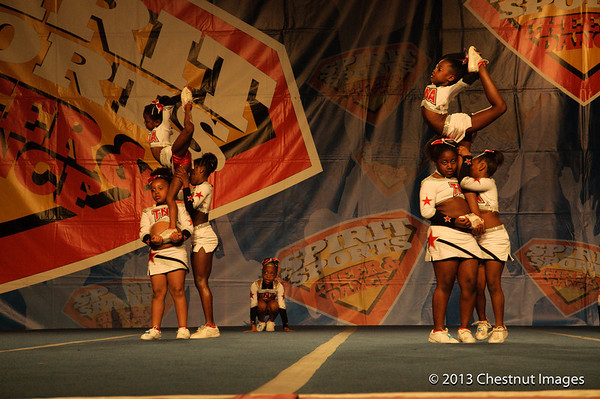 TNA Magnificent Minis performing at Myrtle Beach, SC competition