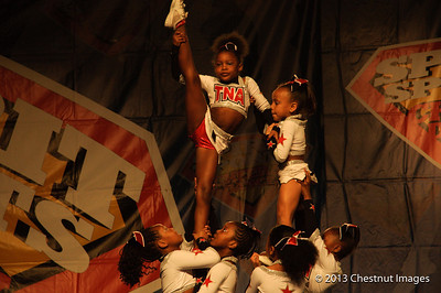 TNA Magnificent Minis routine lifts them to a National Championship at Myrtle Beach, SC competition