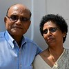 Cdr Koshy with wife Jessy