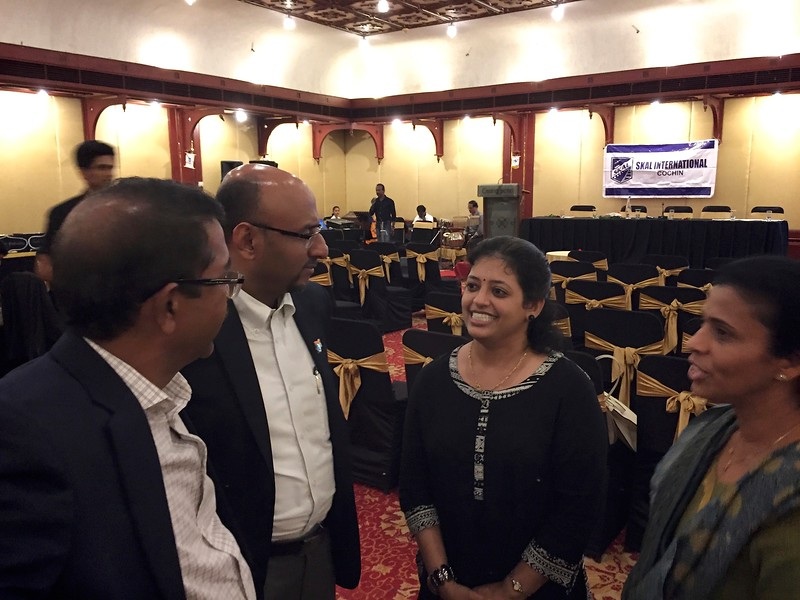 SKAL Meeting at Casino Hotel, Kochi