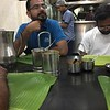Traditional breakfast on road to Munnar