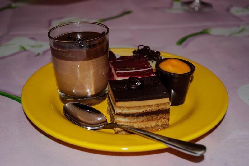 Dessertenbord