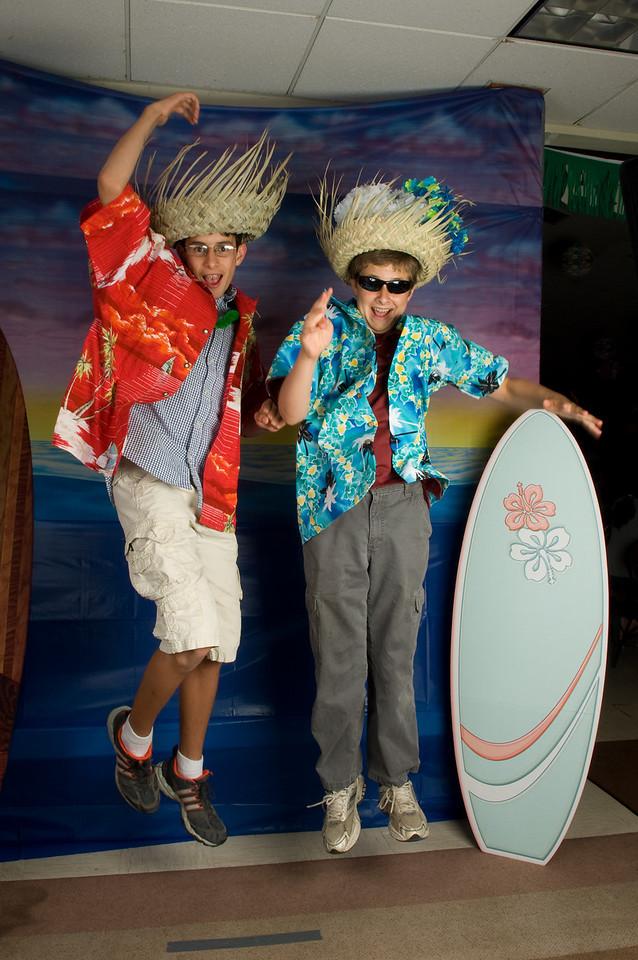 Kevin and Ricardo at the Egan Grad party