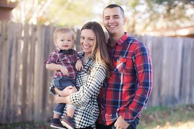 Kevin, Allison, Eli - Christmas 2016