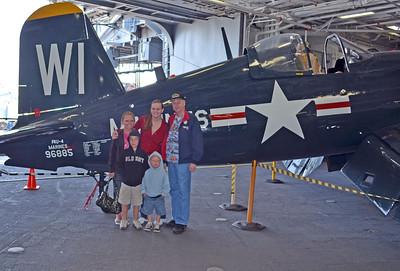 Kevin, Mindy & Heather & Kids on Midway