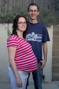 Kevin & Laura 2 days before birth of Isaiah