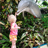 Grace checking out flipper!
